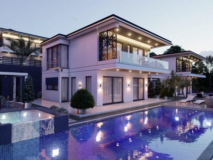 Panoramic Sea View Akbuk Villa – High Quality Custom Design New Build Akbuk Villa