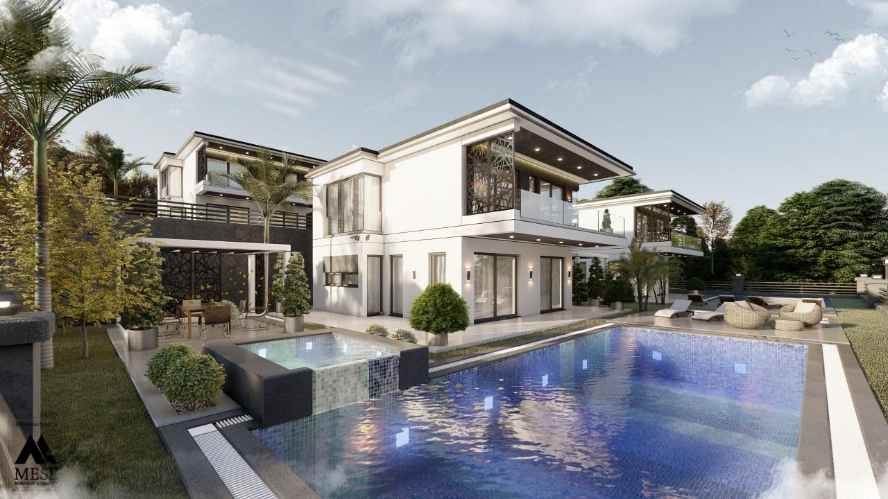 Custom Design Akbuk Villa
