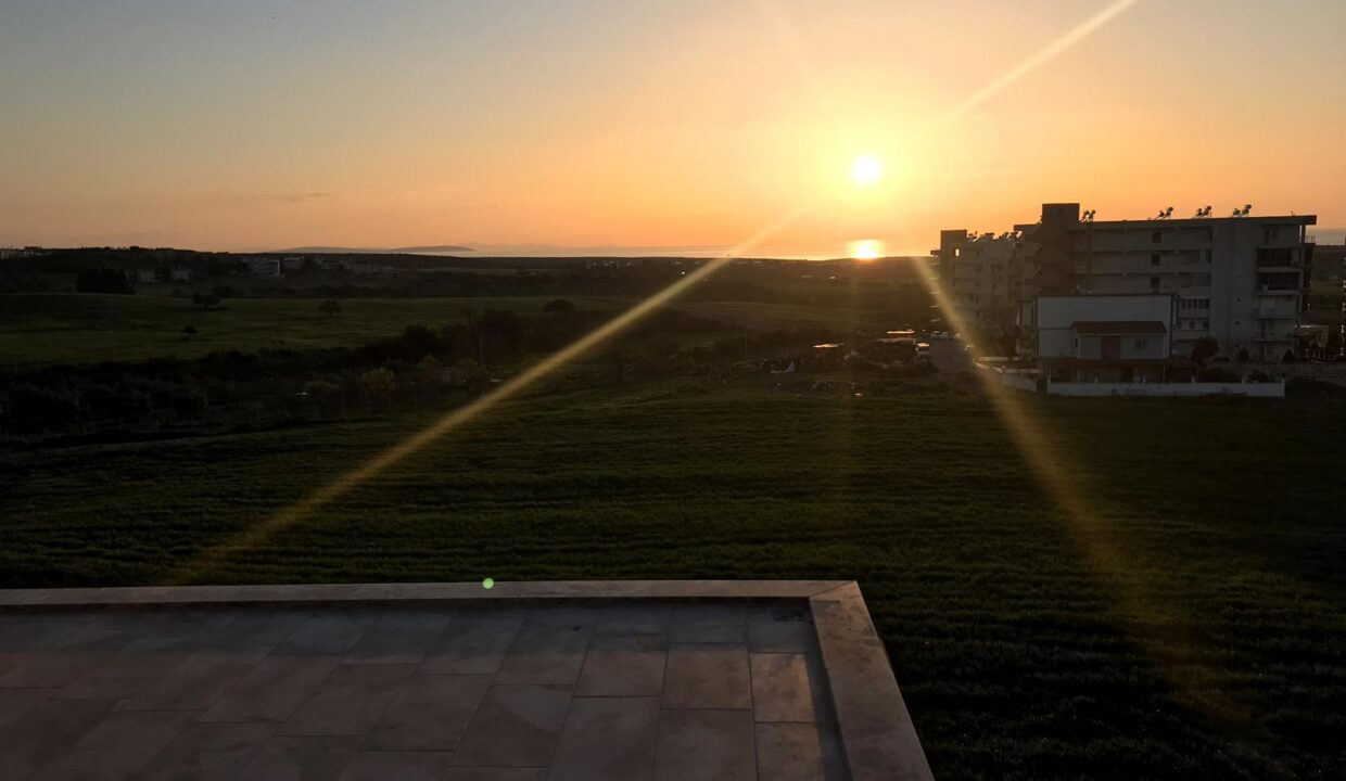 Sunset View From Stone house (2)