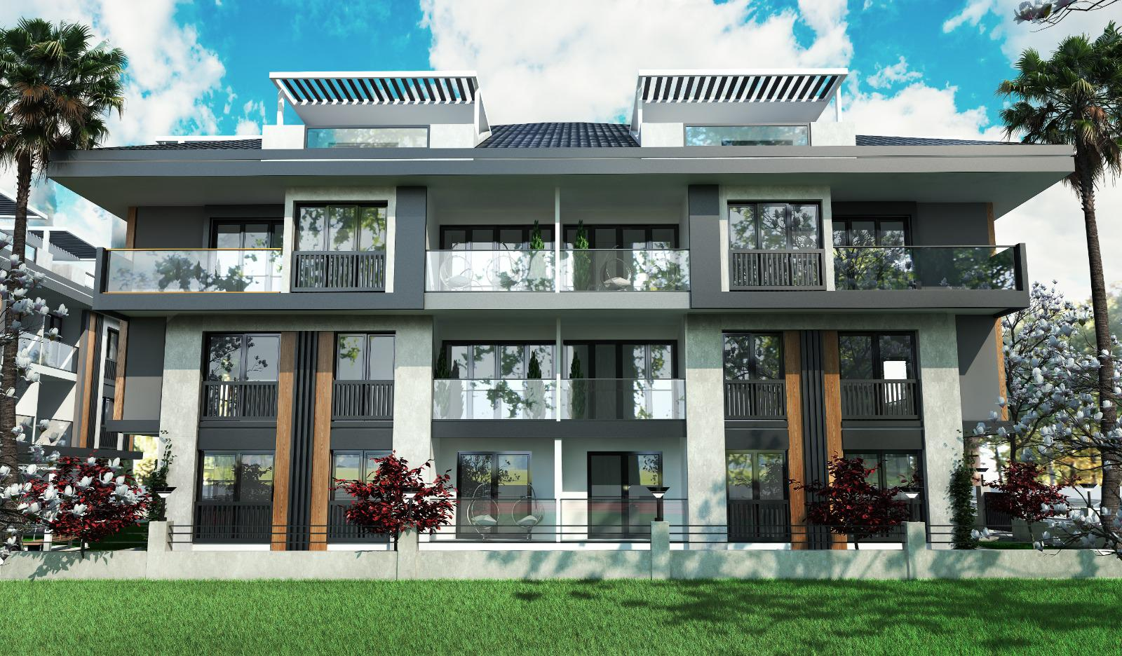 Ongoing Modern Apartments and Penthouses in Didim – Located Near Town Centre