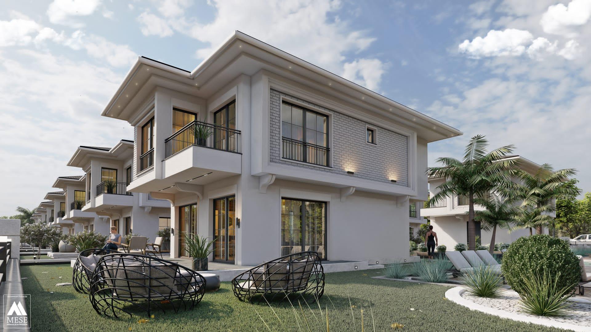 Designer contemporary Off Plan villas for sale in  Altinkum