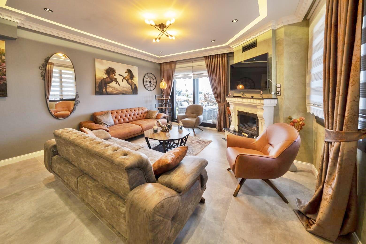 Spacious Semi-detached villa  near Mavisehir – Buy-to-let investment