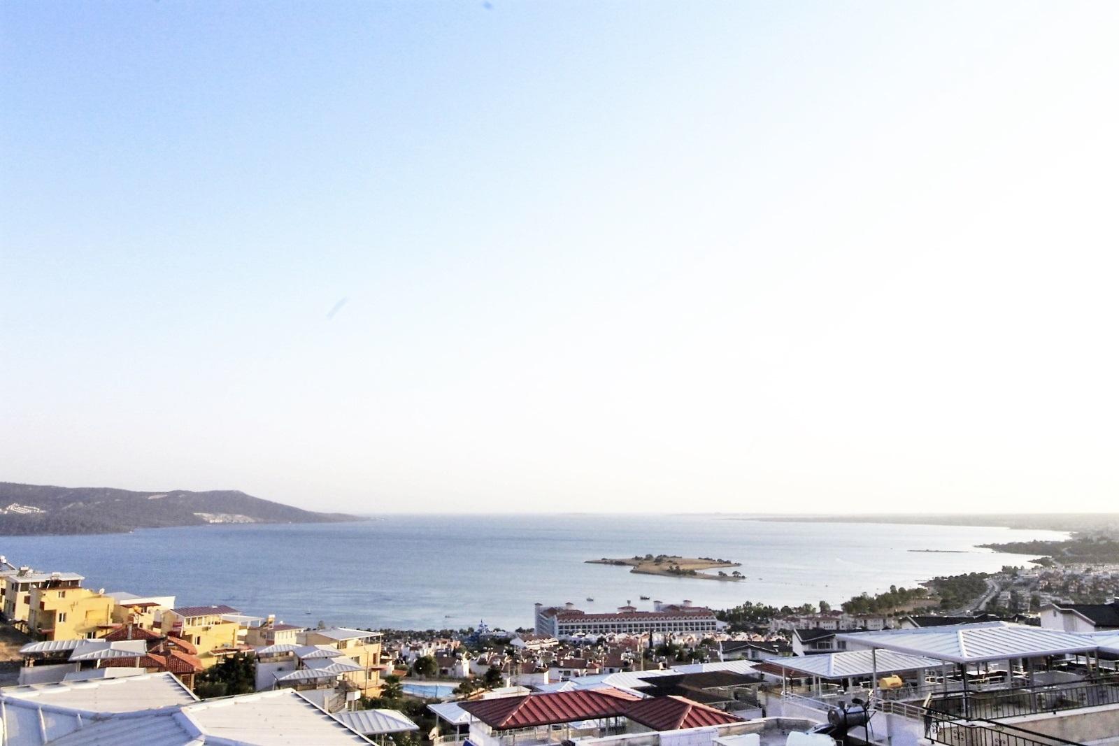 3-Bed Villa 800m to beach in Akbuk – Stunning Sea View Detached Villa