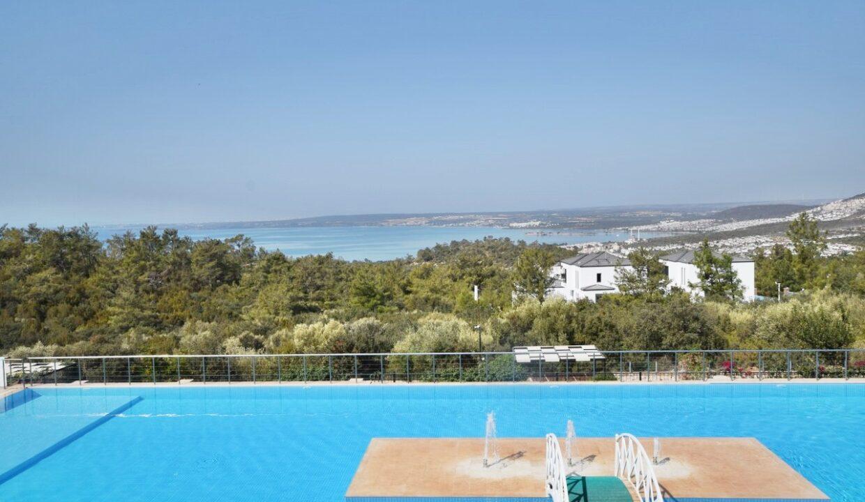 Akbuk sea view duplex premium arkasi (2)